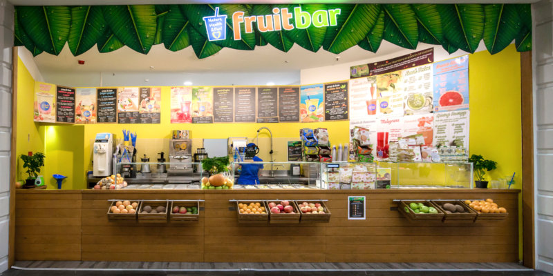 Aprire Chiquita Fruit Bar in Franchising