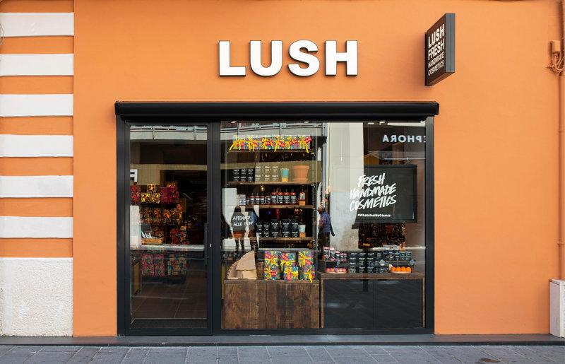 Aprire un punto vendita Lush